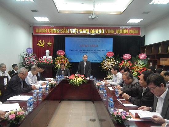 Hình ảnh: Tạp chí Khoa học xã hội Việt Nam kỷ niệm 35 năm thành lập (10/10/1983-10/10/2018) số 2