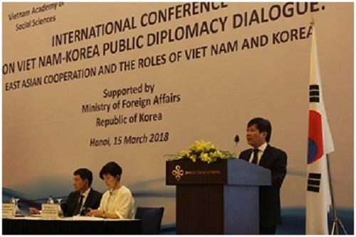 """Hình ảnh: Hội thảo khoa học: """"Hợp tác Đông Á và vai trò của Việt Nam và Hàn Quốc"""" số 1"""