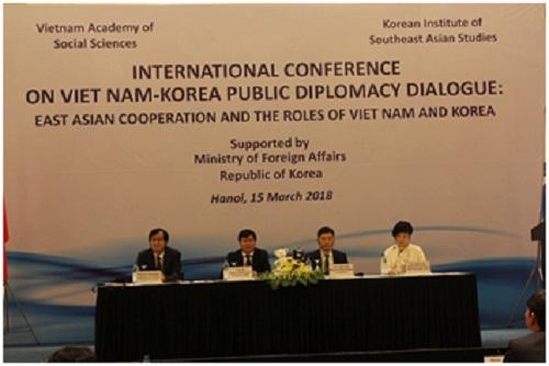 """Hình ảnh: Hội thảo khoa học: """"Hợp tác Đông Á và vai trò của Việt Nam và Hàn Quốc"""" số 2"""