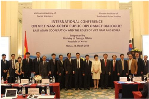 """Hình ảnh: Hội thảo khoa học: """"Hợp tác Đông Á và vai trò của Việt Nam và Hàn Quốc"""" số 4"""