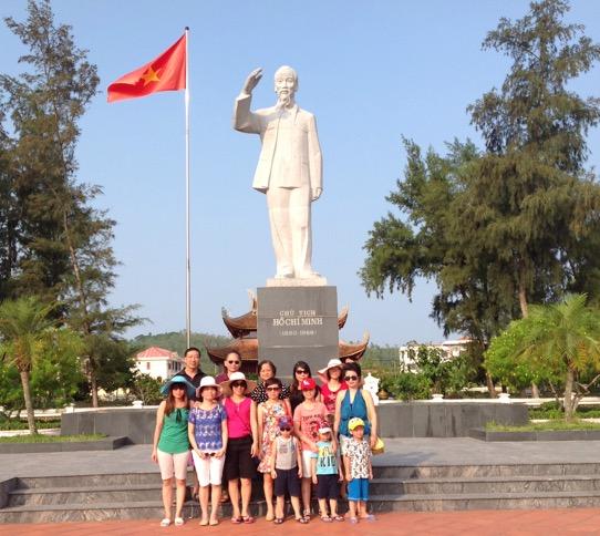 Tạp chí Khoa học xã hội Việt Nam tổ chức thăm quan huyện đảo Cô Tô, Quảng Ninh, tháng 7 năm 2015