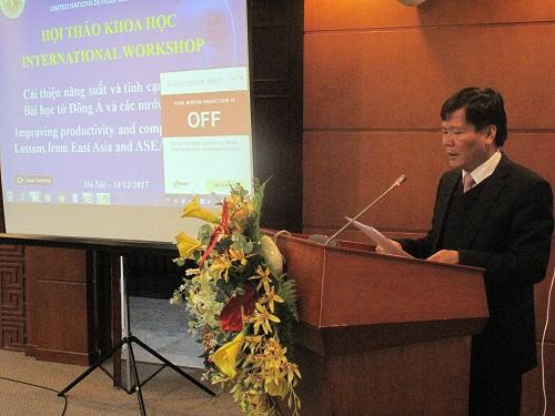 Hội thảo quốc tế 'Cải thiện năng suất và tính cạnh tranh: Bài học từ Đông Á và các nước ASEAN'