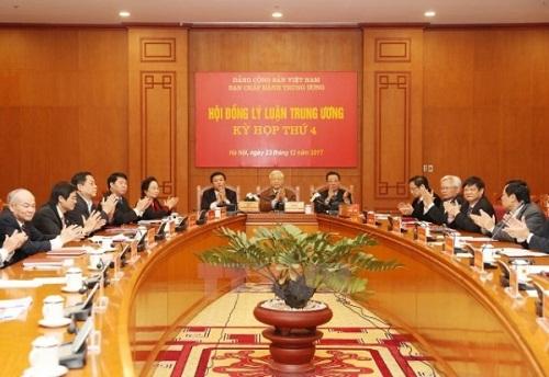 Kỳ họp thứ tư Hội đồng Lý luận Trung ương Nhiệm kỳ 2016-2021