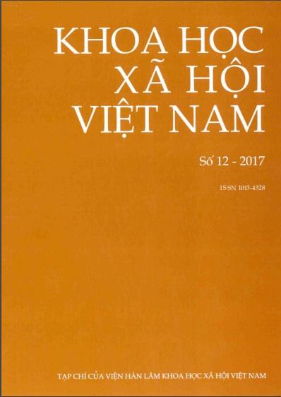 Khoa học xã hội Việt Nam. Số 12 - 2017