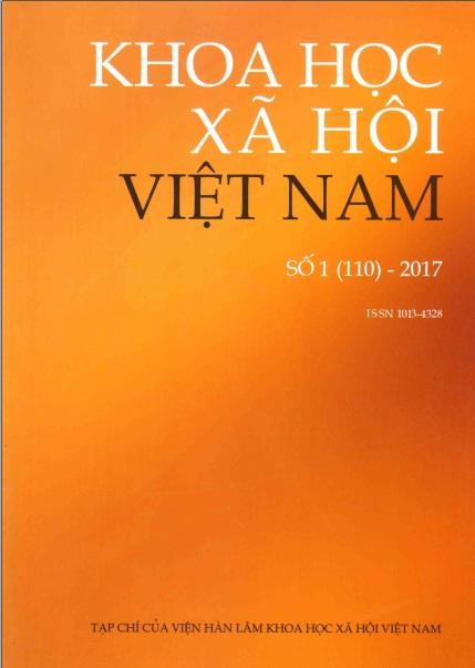 Khoa học xã hội Việt Nam. Số 1 - 2017