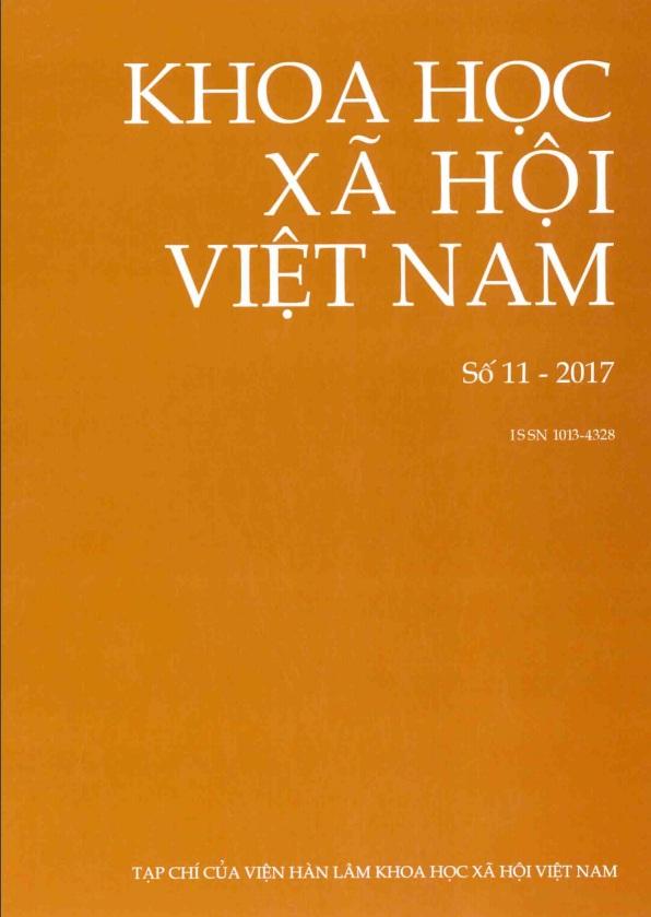 Khoa học xã hội Việt Nam. Số 11 - 2017