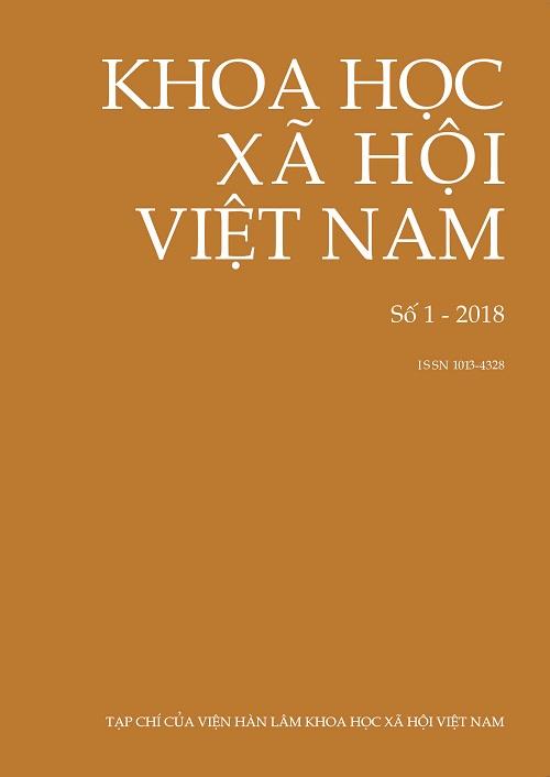 Khoa học xã hội Việt Nam. Số 1 - 2018