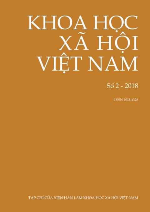 Khoa học xã hội Việt Nam. Số 2 - 2018