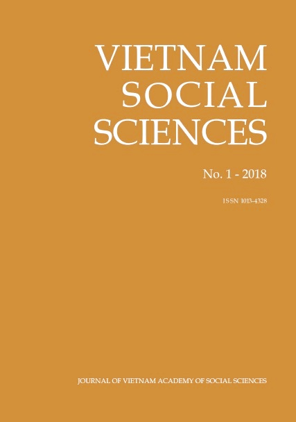 Vietnam Social Sciences. No. 1 - 2018