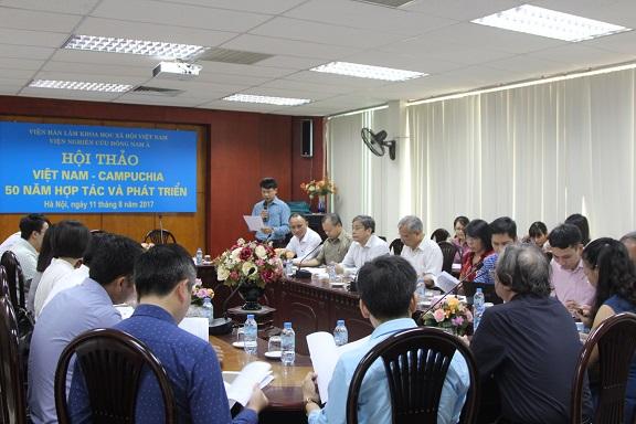 """Hội thảo """"Quan hệ Việt Nam - Campuchia: 50 năm Hợp tác và Phát triển"""""""