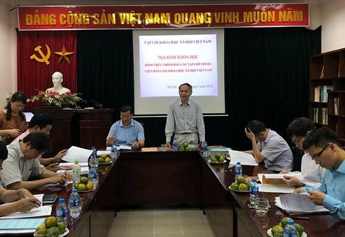 """Tọa đàm khoa học """"Hình thức trình bày các tạp chí thuộc Viện Hàn lâm Khoa học xã hội Việt Nam"""""""