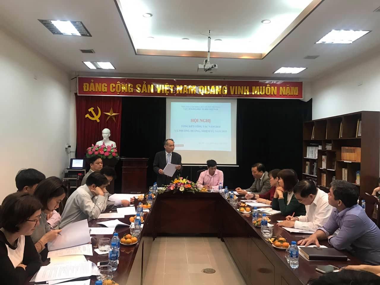 Hội nghị Tổng kết công tác năm 2018 và phương hướng, nhiệm vụ năm 2019