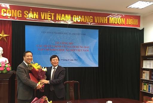 Lễ Công bố và trao Quyết định Quyền Tổng Biên tập Tạp chí Khoa học xã hội Việt Nam