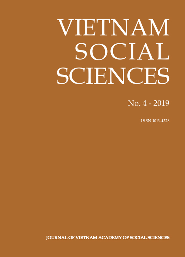 Vietnam Social Sciences. No. 4 - 2019