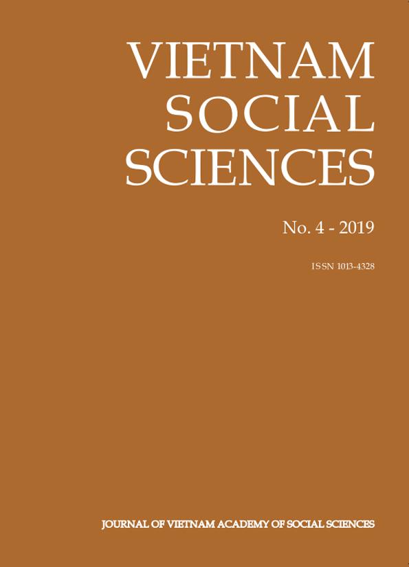 Vietnam Social Sciences. No. 4 - 2019
