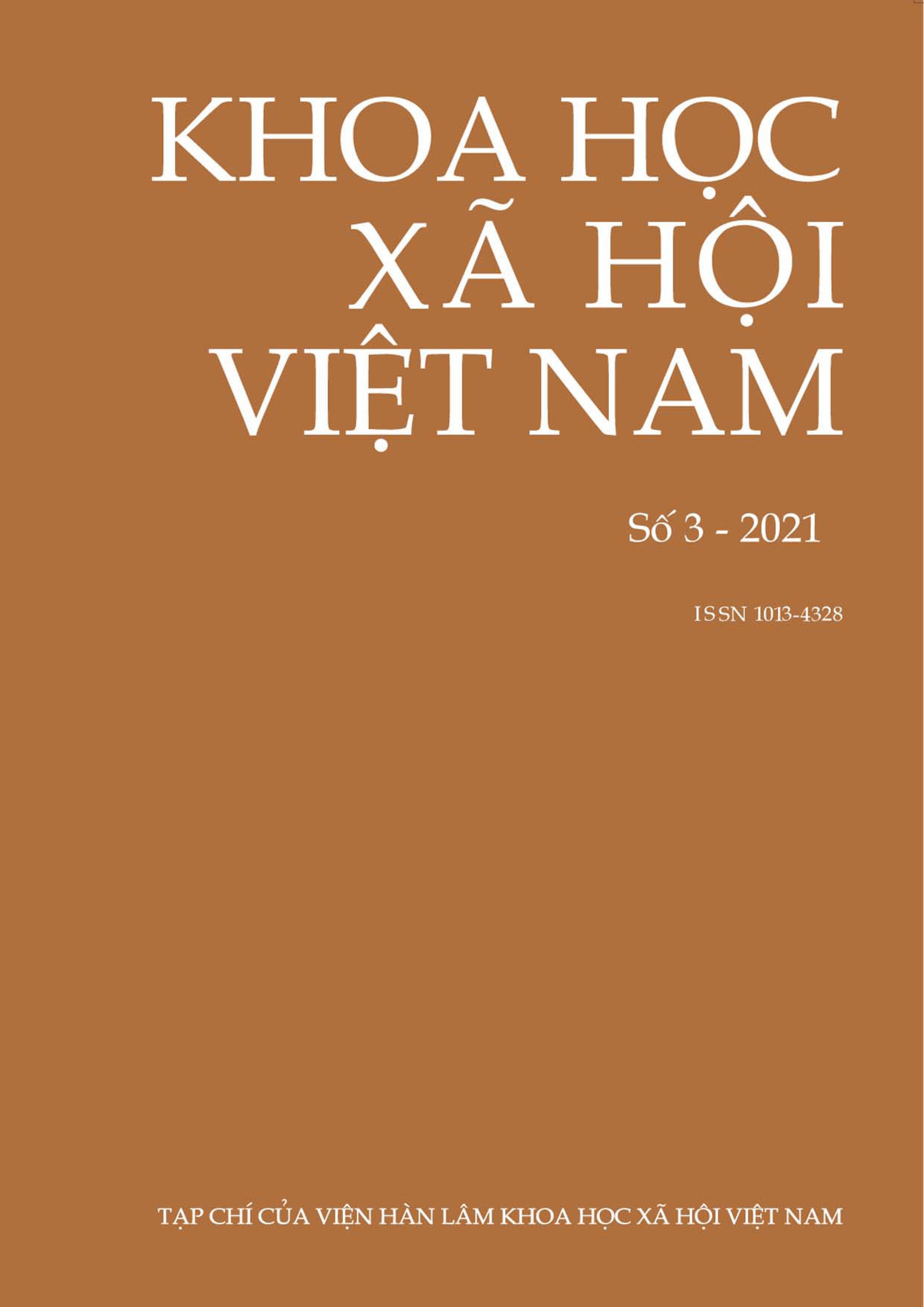 Khoa học xã hội Việt Nam. Số 3 - 2021